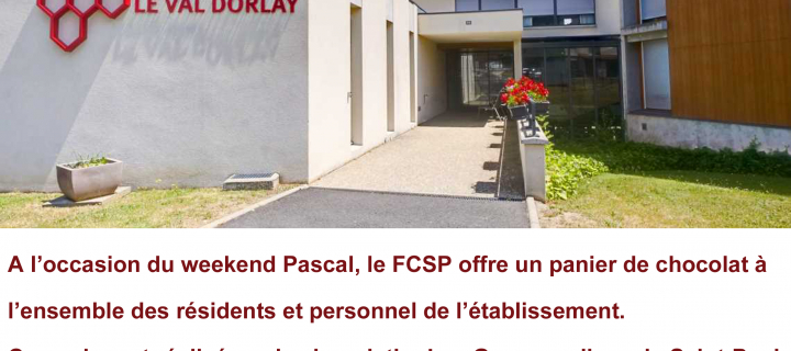LE FCSP SOLIDAIRE DU VAL DORLAY